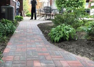 Landscaping - Scott's Landscapes Paver Sidewalk
