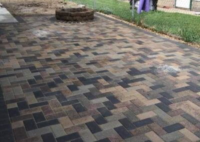 Scott's Landscapes Pavers & Firepit