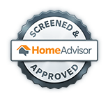 Home Advisor Screened & Approved Seal